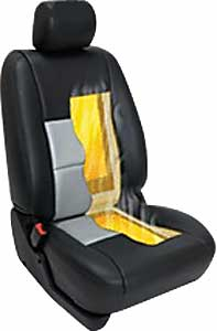 Heated Seat With Pads