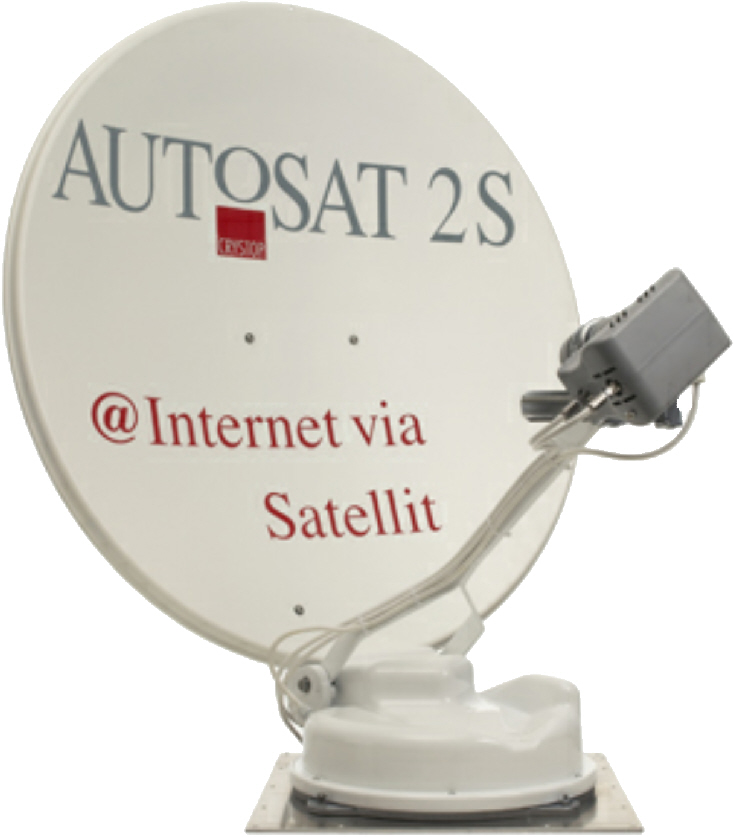 Crystop Mobile Internet Dish