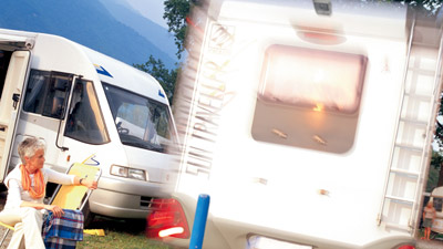 Motorhome Rear View System
